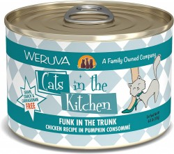 Weruva Cats in the Kitchen 罐裝 Funk in the Trunk 走地雞 南瓜湯 170g