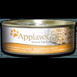 Applaws 天然貓罐頭 雞胸 & 芝士 156g x24罐優惠