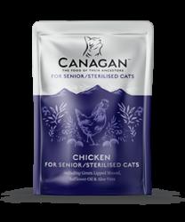 Canagan 原之選 無穀物老貓/絕育貓 雞肉配方湯包 85g x8包優惠