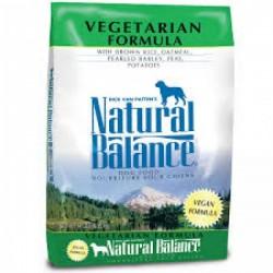 Natural Balance素食狗糧4.5磅