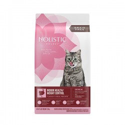 Holistic Select 無穀物全貓室內體重控制 - 火雞、雞肉及鯡11.5磅