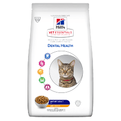 [凡購買處方用品, 訂單滿$500或以上可享免費送貨]  Hill's VetEssentials Adult 7+ (Dental) 老貓獸醫配方糧 2.5kg