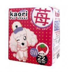 Kaori pet sheets 士多啤梨味尿片 60x90cm 22片 x8包優惠