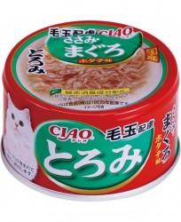 CIAO 濃湯 雞肉+吞拿魚 化毛球 A56 x24罐優惠