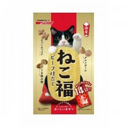 日清 貓大福 潔齒小食 牛肉味 (紅) 3gx14