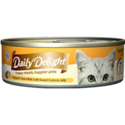 Daily Delight (DD-56) 白鰹吞拿魚+甜玉米 80g