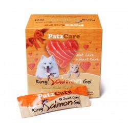 <<4月優惠>> PatzCare 關節心臟三文魚油啫喱 (橙色~41磅以上貓狗適用)