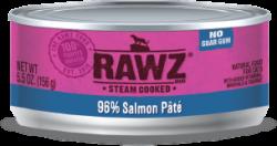 RAWZ 96% 三文魚 全貓罐頭 156g