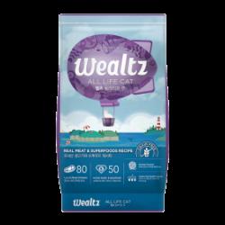 Wealtz 全年齡貓配方 - 鮮雞肉、超級食物食譜 (紫色) 1.2Kg
