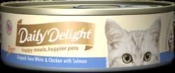 Daily Delight DD43 白鰹吞拿魚+雞肉+三文魚 80g x24罐優惠