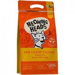 Meowing Heads - Paw Lickin' Chicken 全天然成貓配方(雞肉、鮮魚) 4kg