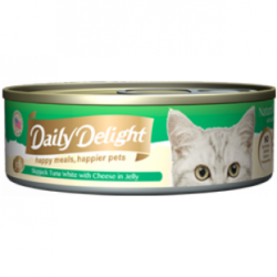Daily Delight (DD-52) 白鰹吞拿魚+芝士 80g