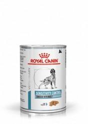 [凡購買處方用品, 訂單滿$500或以上可享免費送貨]  Royal Canin - Sensitivity Control (SC21) 感控處方 (雞+飯) 狗罐頭 420g x12罐原箱