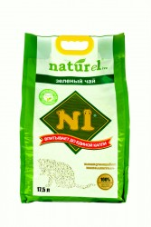N1 豆腐貓砂17.5L (綠茶味) 2.0 幼條砂 x3包優惠  (共一箱)
