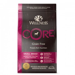 Wellness CORE Original Small Breed 無穀物 小型成犬專用配方 狗糧 4磅 到期日: 22/04/2021