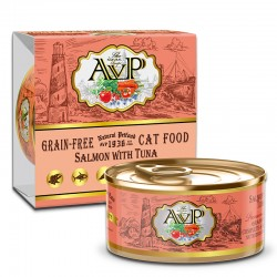 AVP 三文魚+吞拿魚 主食mousse 貓罐頭 85g