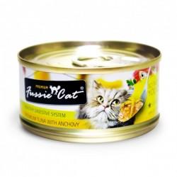 Fussie Cat 吞拿魚+鯷魚 罐頭 80g