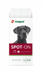 Amigard Spot-On 安格 狗防蚤滴 30kg以上 3×6ml