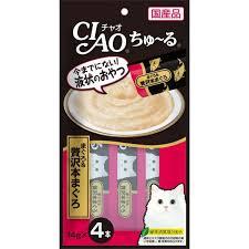 Ciao SC-150 吞拿魚+極品吞拿魚 綠茶消臭配方 (14gx4)