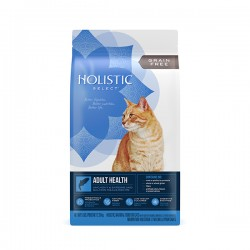 Holistic Select 無穀物成貓鯷魚、沙甸魚及三文魚配方 5lb