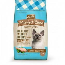 Merrick 無穀物天然貓糧 成貓體重控制配方4磅