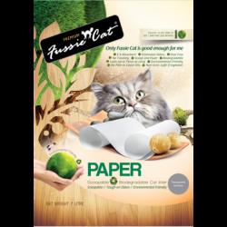 Fussie Cat 環保紙貓砂 7L x7包 (原箱優惠)