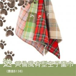 Harlow Blend 哈樂楓葉 經典格仔英倫風圍巾 (數量有限, 換購完即止!)
