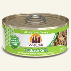 Weruva Outback Grill 沙丁魚+肺魚+鰺魚 貓罐頭 5.5oz