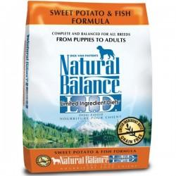 NaturalBalance無穀物甜著魚狗糧 L.I.D Sweet potato & Fish formula dog food4.5磅