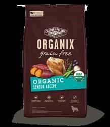 ORGANIX 無穀物犬糧 – 有機年老犬配方 4lb
