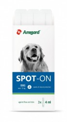 Amigard Spot-On 安格 狗防蚤滴 15至30kg 3×4ml