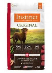 Nature's Variety Instinct 本能無穀物 牛肉配方狗糧 4lb