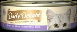 Daily Delight DD44 白鰹吞拿魚+雞肉+海鯛魚 80g x24罐優惠