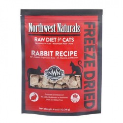 Northwest Naturals 凍乾全貓乾糧 - 兔肉  113g (4oz) 到期日: 21/03/2021
