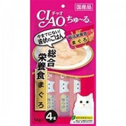 CIAO - SC-147 綜合營養食 吞拿魚醬 (14g x 4包) x2包優惠