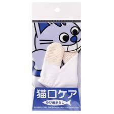 日本 SHIZU-KICHI 貓用潔齒手套 (入門級用)