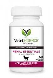 VetriScience Renal Essentials 貓隻腎臟補充咀嚼片 (60片)