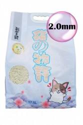 貓之物語 (原味) 2.0mm 幼條天然豆腐砂 17.5L x3包 (共一箱)