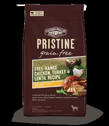 PRISTINETM 無穀物全犬糧 – 放養雞 火雞 扁豆 配方 18lb
