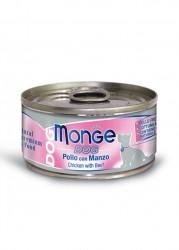 Monge Chicken with Beef For Dog 雞加牛肉狗罐頭 95g x24罐
