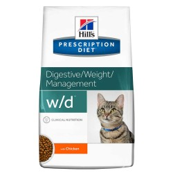 Hill's w/d 獸醫配方乾貓糧 8.5磅*