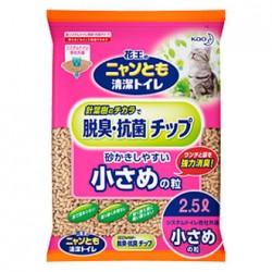 花王 滲透式木砂(小粒)2.5L  x6包優惠