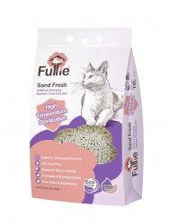 Furrie 天然豆腐貓砂(雲呢拿味) 19L x4包優惠 (共兩箱)