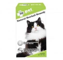 **6月優惠** 凡購買 Country Naturals 貓糧, 可以以$79 換購 Dr.Pet Natural Hairball Remedy 護心去毛球 50g 1盒