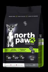 North Paw 小型成犬無穀物乾糧 雞肉-鯡魚 (綠色) 6磅