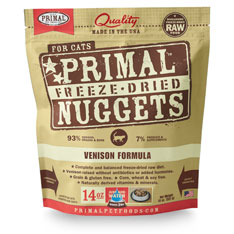 Primal (原始) 貓用 脫水糧- 鹿肉配方 14oz x2包優惠