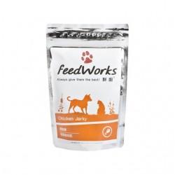 Feed Works 鮮廚 跳跳雞-雞肉乾小食 80g  (無添加, 台灣製造)