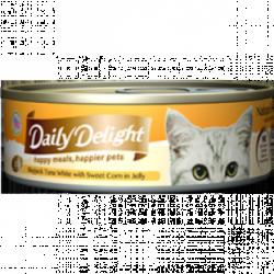 Daily Delight (DD-56) 白鰹吞拿魚+甜玉米 80g x24罐