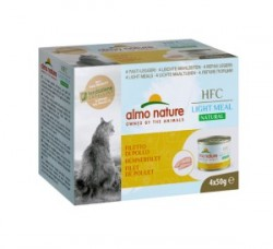 Almo Nature Light 雞柳 貓罐頭 50g x4罐
