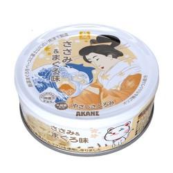 Akane 精心挑選 吞拿魚+ 雞 (含乳酸菌) 75g x24罐優惠